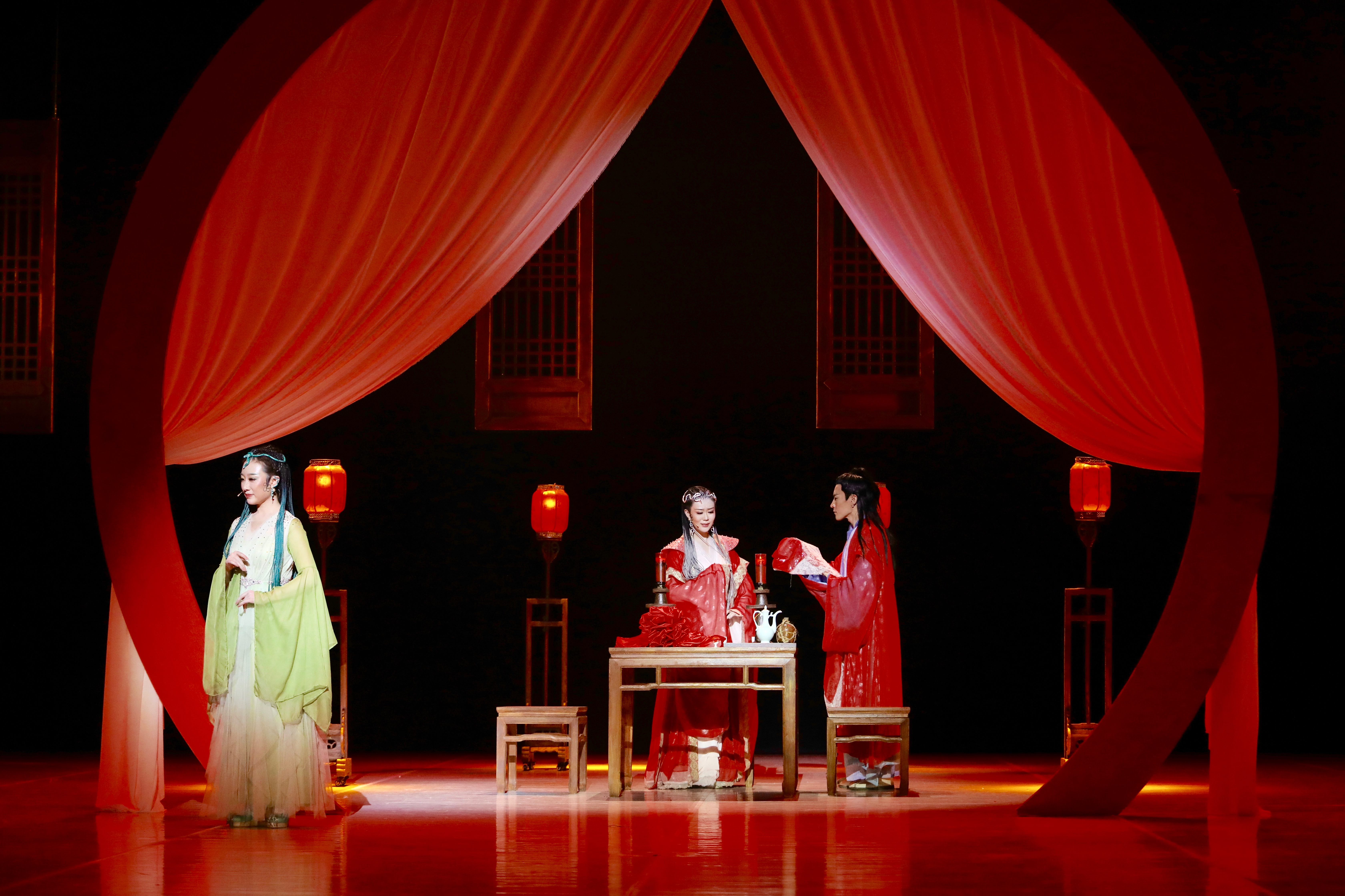 "Scenes from ""Love Forever"", a Chinese musical adapted from The Legend of the White Snake (Xinhua/Zhang Manzi)"